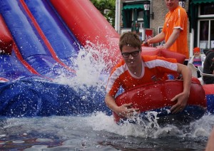 Waterspektakel Koninginnedag 2014 Kruiningen